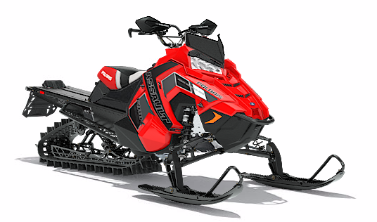 2018 Polaris 800 RMK Assault 155 SnowCheck Select in Salt Lake City, Utah