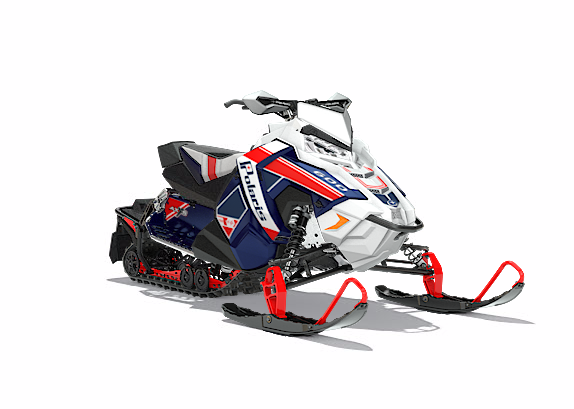 2018 Polaris 600 RUSH PRO-S SnowCheck Select 1.25 in Salt Lake City, Utah