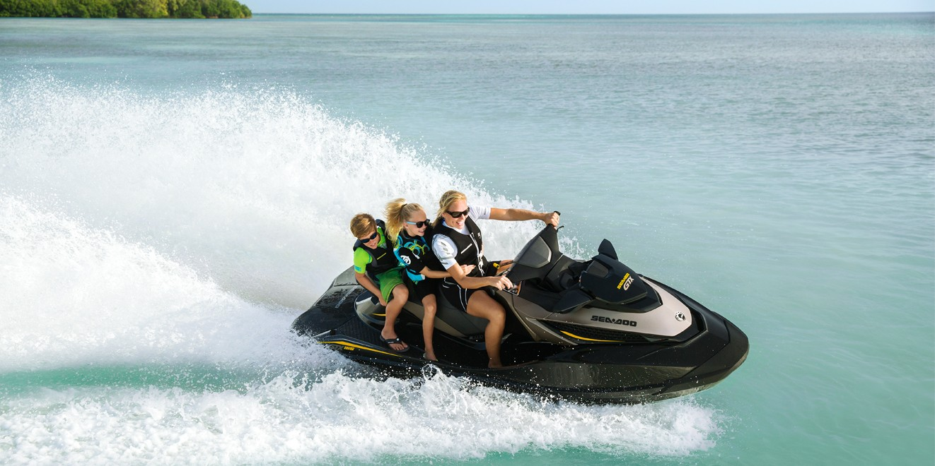 2017 Sea-Doo GTX 155 in Presque Isle, Maine