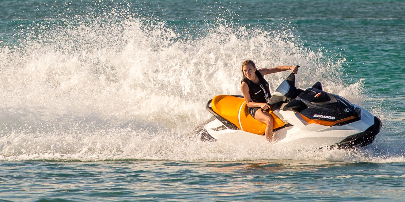 2017 Sea-Doo GTS in Ontario, California