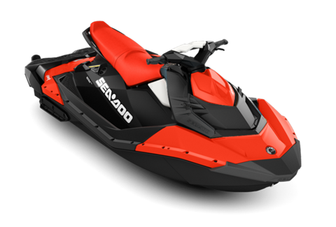 2017 Sea-Doo SPARK 3up 900 H.O. ACE iBR & Convenience Package Plus in Dickinson, North Dakota
