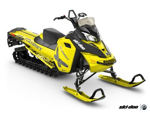 2016 Ski-Doo Summit X T3 163 800R E-TEC, PowderMax 3.0