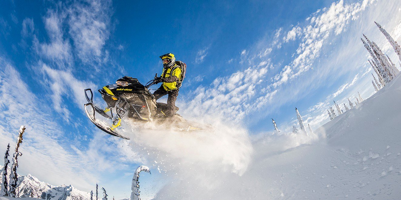 "2017 Ski-Doo Summit X 154 850 E-TEC, PowderMax 2.5"" in Butte, Montana"