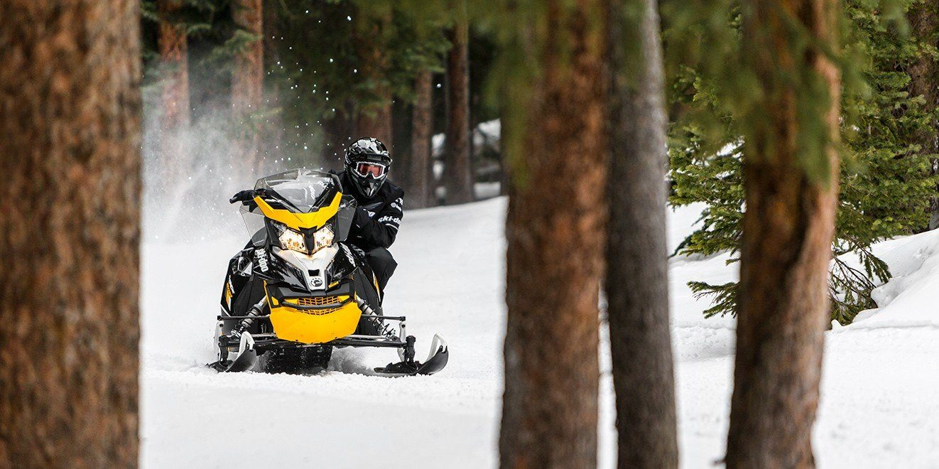 2017 Ski-Doo MXZ Blizzard 600 H.O. E-TEC in Salt Lake City, Utah
