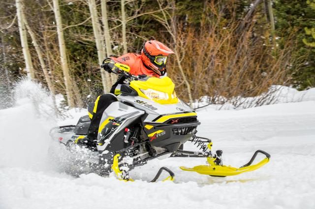 2017 Ski-Doo MXZ X-RS 800R E-TEC w/ Adj. Pkg. Ice Ripper XT in Salt Lake City, Utah