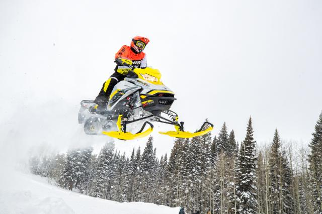 2017 Ski-Doo MXZ X-RS 800R E-TEC w/ Adj. Pkg. Ice Ripper XT in Butte, Montana