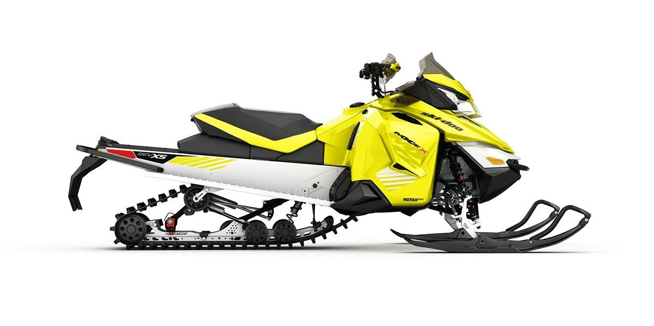 2017 Ski-Doo MXZ X 600 H.O. E-TEC w/ Adj. Pkg. Ice Ripper XT in Salt Lake City, Utah