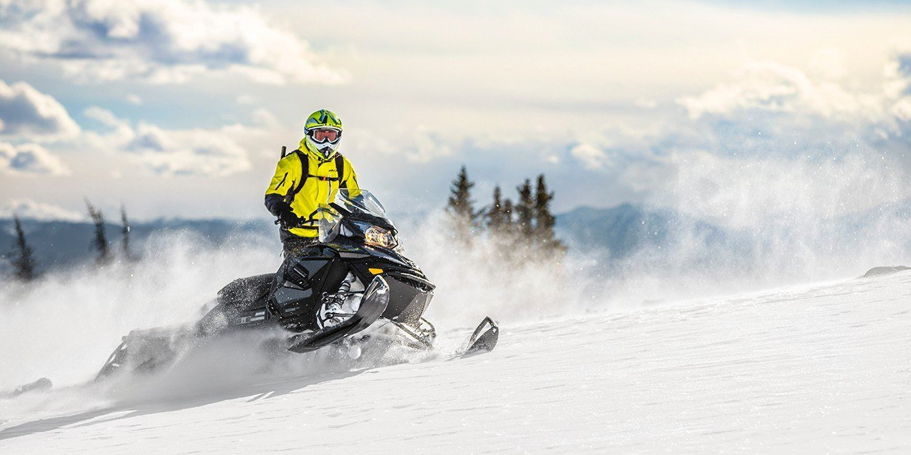2017 Ski-Doo Renegade Backcountry 600 H.O. E-TEC E.S. in Pendleton, New York