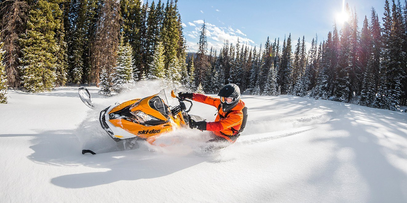 "2017 Ski-Doo Renegade Backcountry X 800R E-TEC Cobra 1.6"" in Butte, Montana"