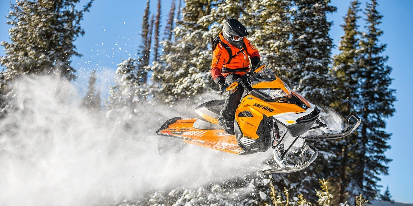 "2017 Ski-Doo Renegade Backcountry X 800R E-TEC Powdermax 2.0"" in Salt Lake City, Utah"