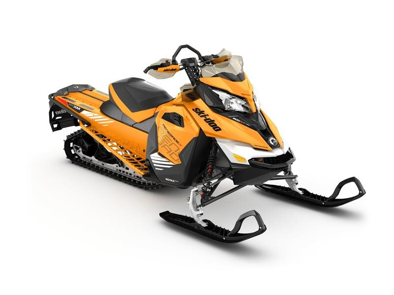 "2017 Ski-Doo Renegade Backcountry X 800R E-TEC E.S. Powdermax 2.0"" in Butte, Montana"