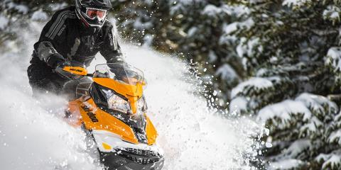 2017 Ski-Doo Renegade X 600 H.O. E-TEC E.S. w/ Adj. pkg. Ice Ripper XT in Salt Lake City, Utah