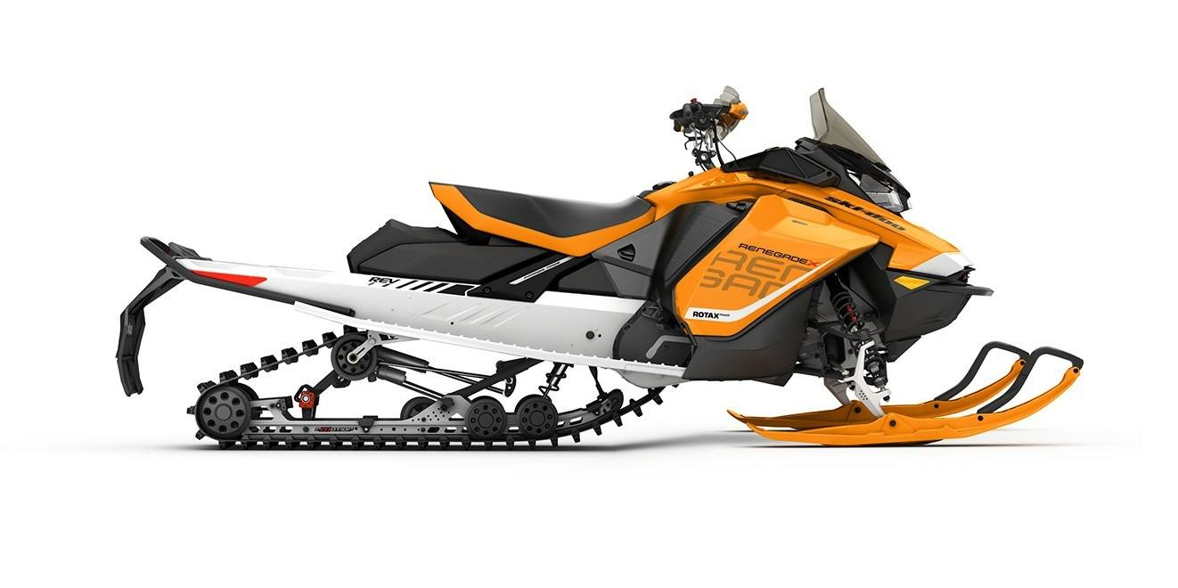 2017 Ski-Doo Renegade X 850 E-TEC E.S. w/Adj. pkg. Ice Ripper XT in Hotchkiss, Colorado