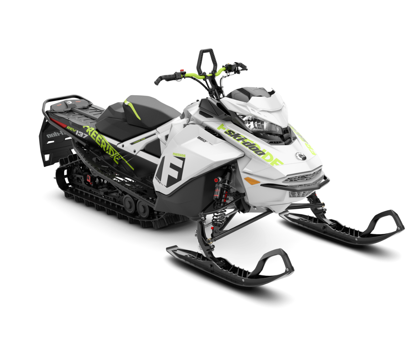 2018 Ski-Doo Freeride 137 850 E-TEC ES PowderMax 1.75 S_LEV_LOW in Wisconsin Rapids, Wisconsin