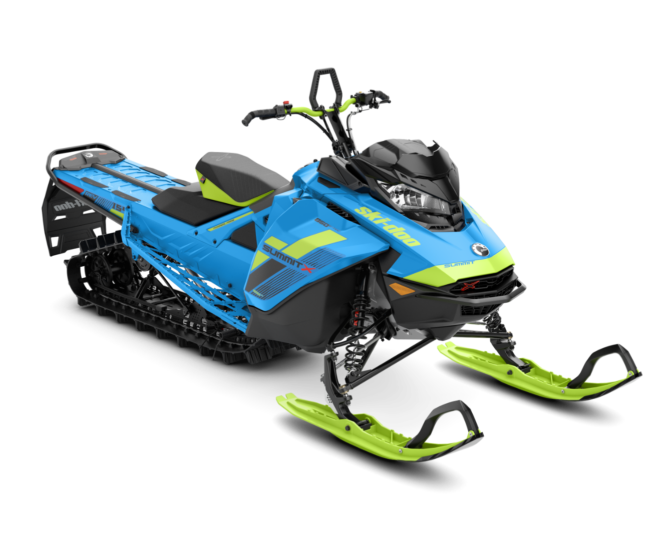 2018 Ski-Doo Summit X 154 850 E-TEC, PowderMax Light 2.5 S_LEV in Evanston, Wyoming