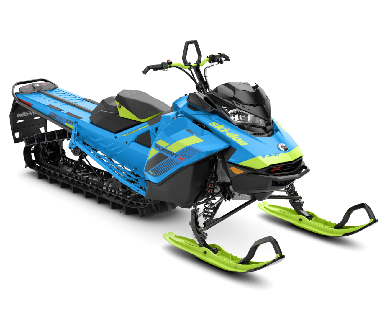 2018 Ski-Doo Summit X 175 850 E-TEC ES H_ALT in Presque Isle, Maine