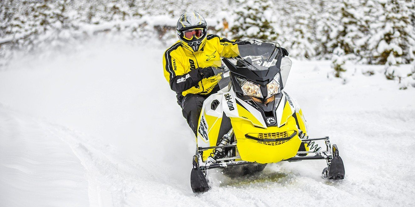 2018 Ski-Doo MXZ TNT 600 HO E-TEC in Moses Lake, Washington