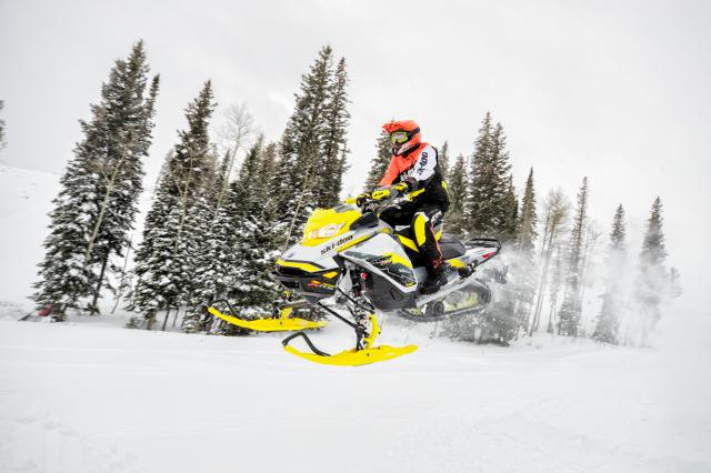 2018 Ski-Doo MXZ X-RS 600 E-TEC Iron Dog in Evanston, Wyoming