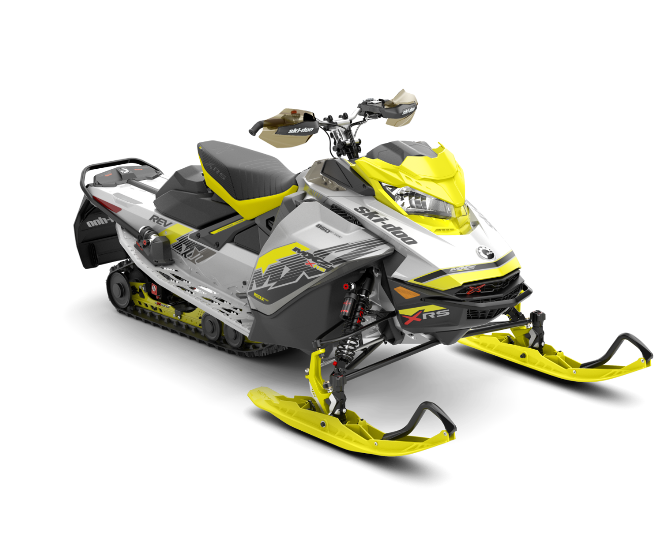 2018 Ski-Doo MXZ X-RS 850 E-TEC w/ Adj. Pkg. Ice Ripper XT 1.25 in Presque Isle, Maine
