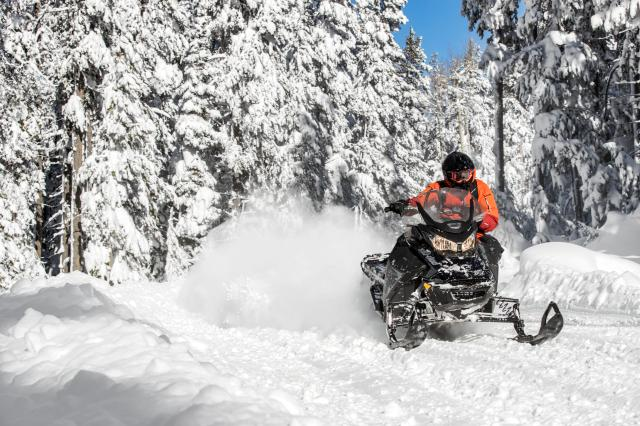 2018 Ski-Doo Renegade Backcountry 600 H.O. E-TEC in Evanston, Wyoming