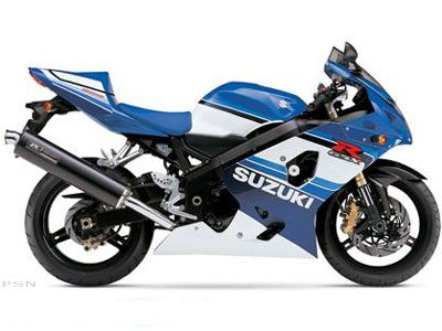 2005 Suzuki GSX-R600 20th Anniversary Edition in Presque Isle, Maine