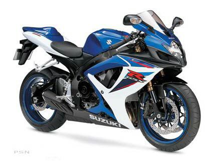 2007 Suzuki GSX-R600™ in Banning, California