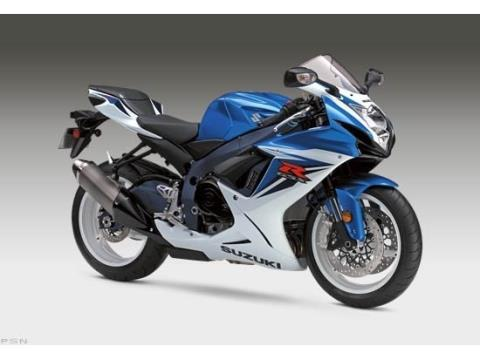 2012 Suzuki GSX-R600™ in Norfolk, Virginia