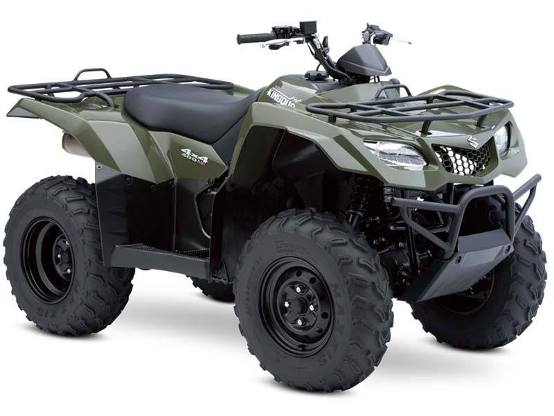 2014 Suzuki KingQuad® 400ASi in Highland Springs, Virginia