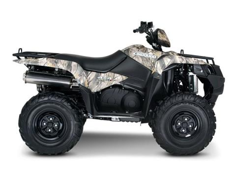 2015 Suzuki KingQuad 500AXi Power Steering Camo in Broken Arrow, Oklahoma