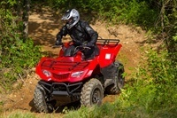 2016 Suzuki KingQuad 400FSi in Gonzales, Louisiana