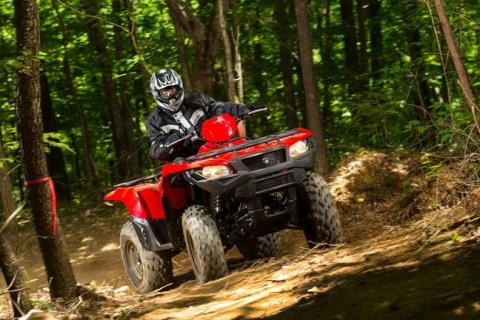 2016 Suzuki KingQuad 500AXi in Gonzales, Louisiana