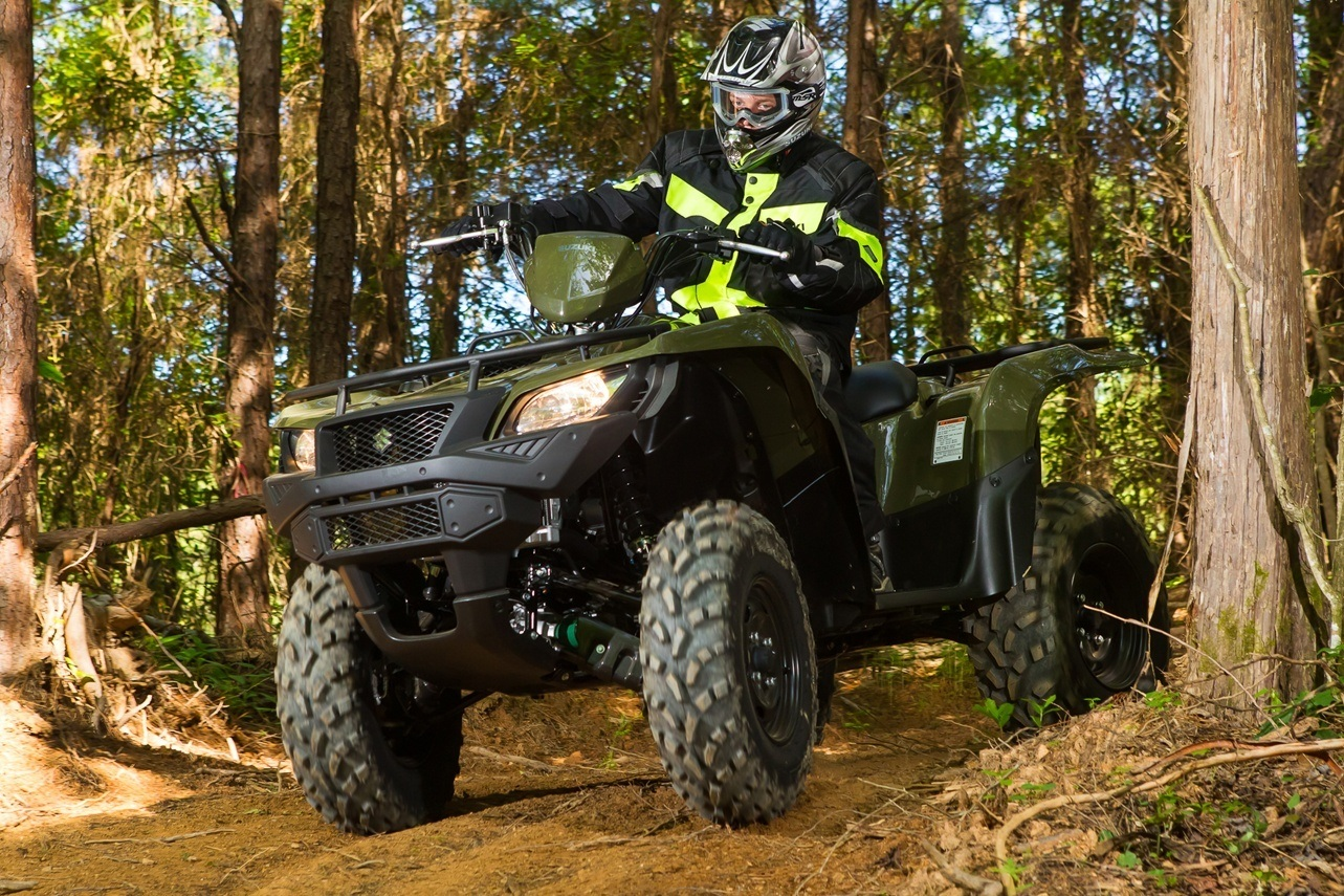 2016 Suzuki KingQuad 500AXi Power Steering in Phillipston, Massachusetts