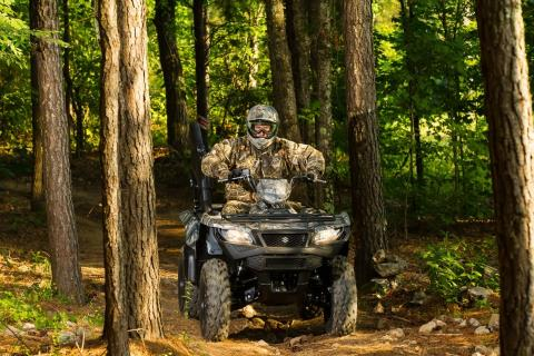 2016 Suzuki KingQuad 500AXi Power Steering Camo in Albemarle, North Carolina