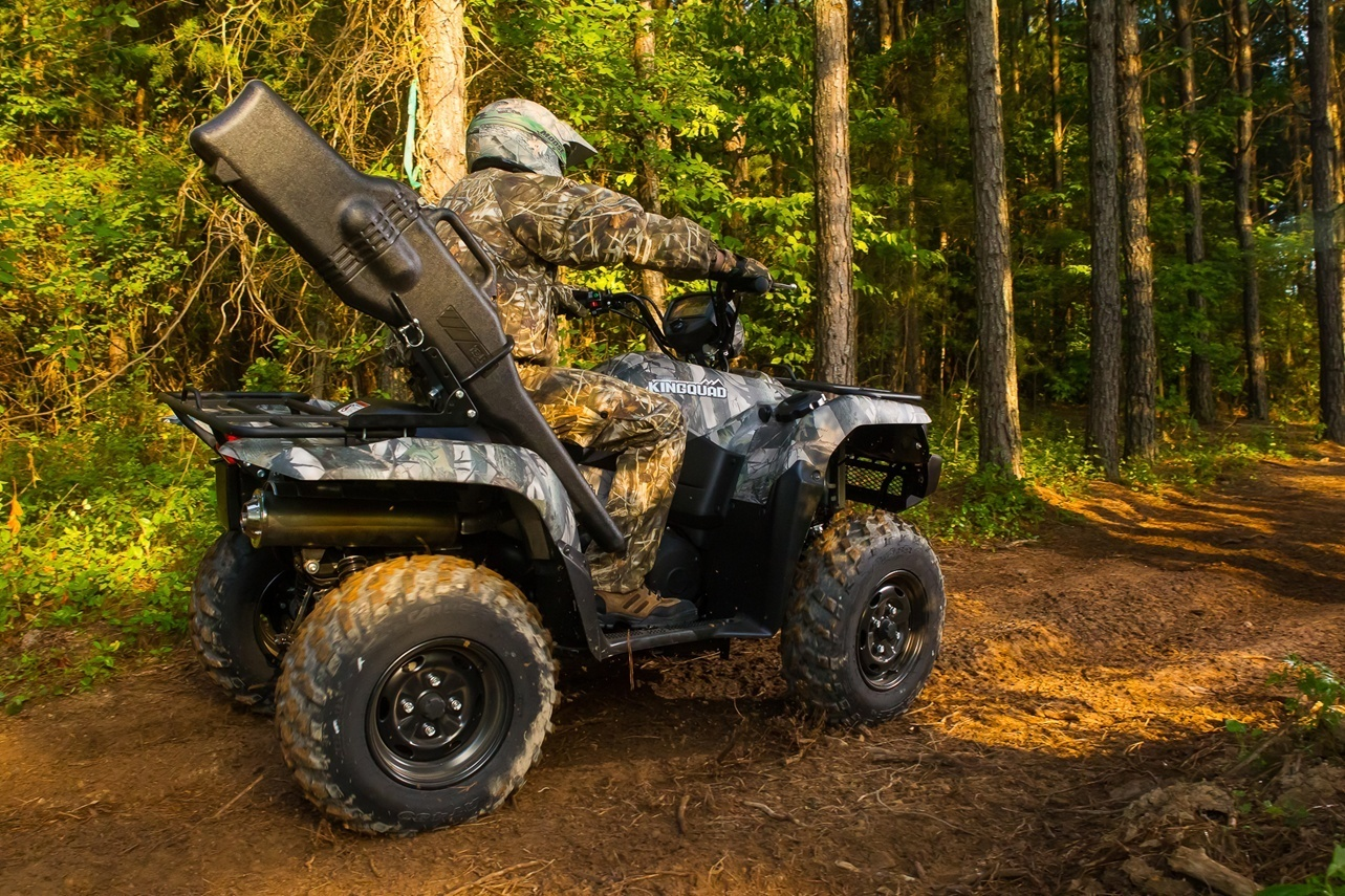 2016 Suzuki KingQuad 500AXi Power Steering Camo in Gonzales, Louisiana