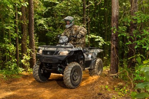2016 Suzuki KingQuad 750AXi Camo in Bristol, Virginia