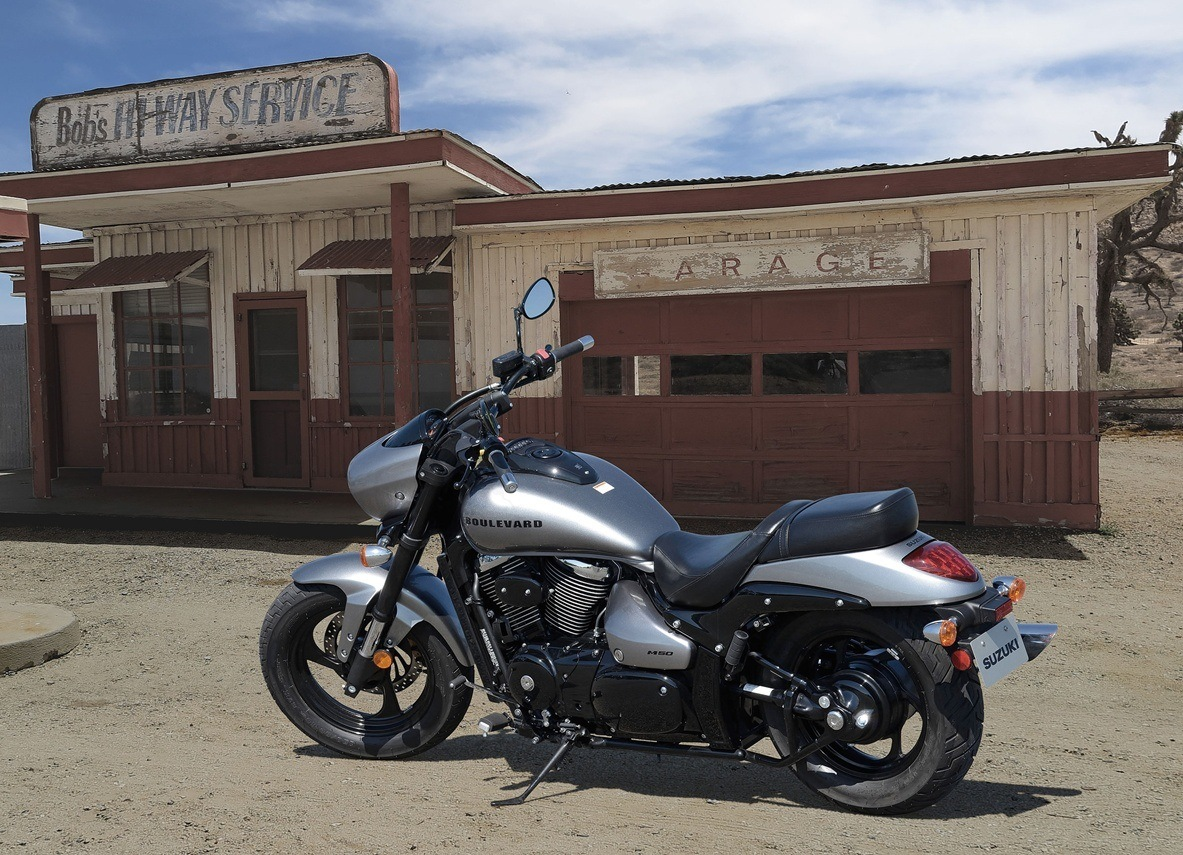 2016 Suzuki Boulevard M50 in Johnson City, Tennessee