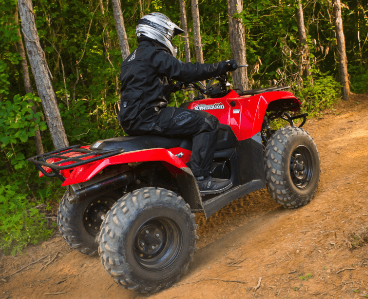 2017 Suzuki KingQuad 400FSi in Phillipston, Massachusetts