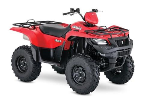 2017 Suzuki KingQuad 500AXi Power Steering in Muskogee, Oklahoma