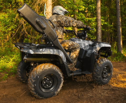2017 Suzuki KingQuad 500AXi Power Steering Camo in Sacramento, California