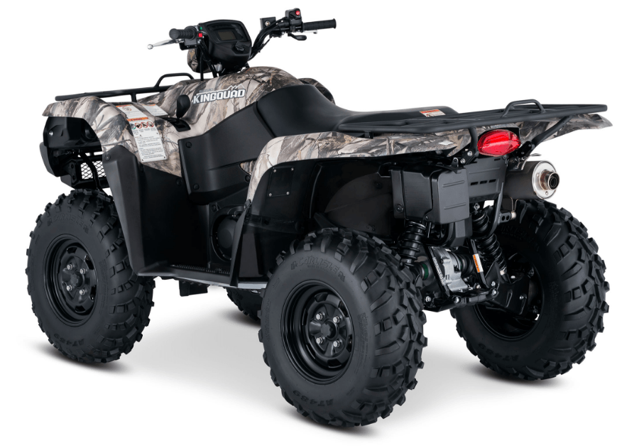 2017 Suzuki KingQuad 750AXi Camo in Greenville, North Carolina