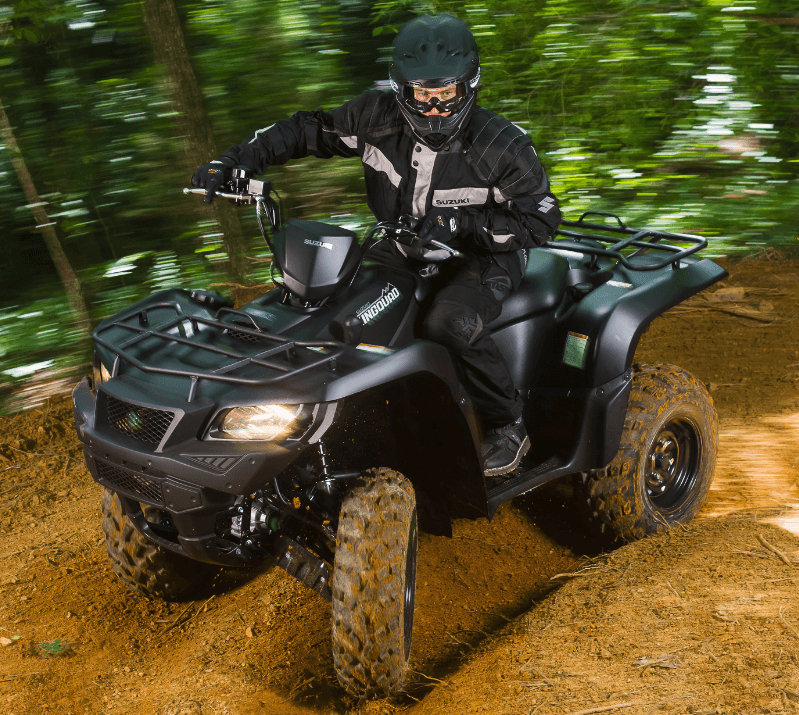 2017 Suzuki KingQuad 750AXi Power Steering Special Edition in New Castle, Pennsylvania