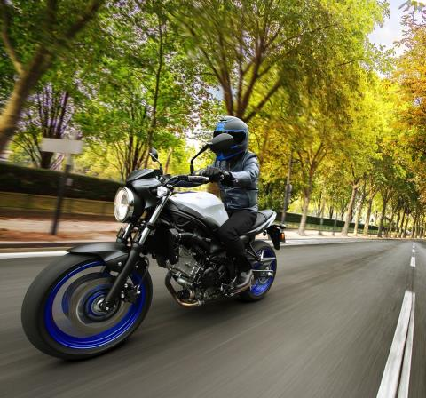 2017 Suzuki SV650 ABS in Merced, California