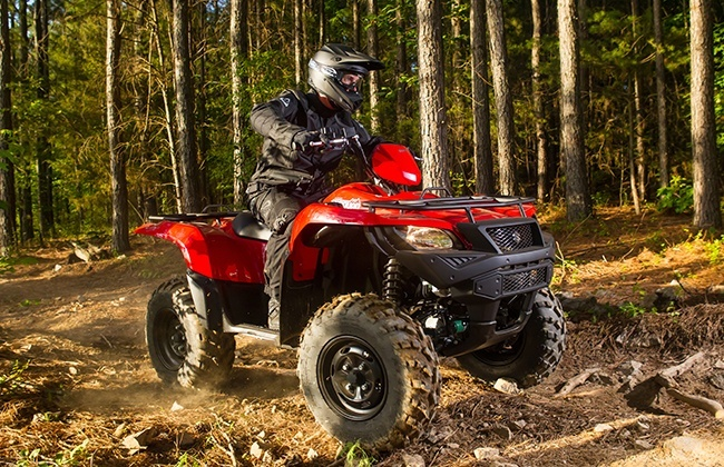 2018 Suzuki KingQuad 750AXi Power Steering in Yuba City, California