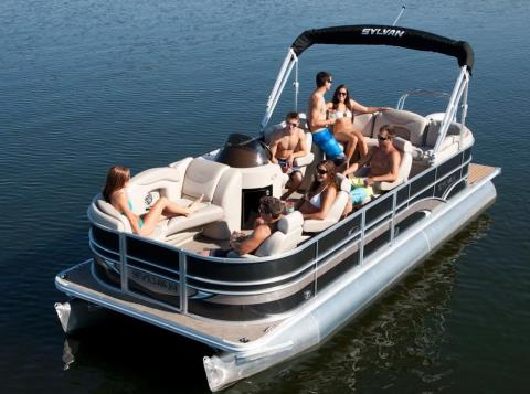2015 Sylvan Mirage Cruise 8522 LZ Port in Fort Worth, Texas