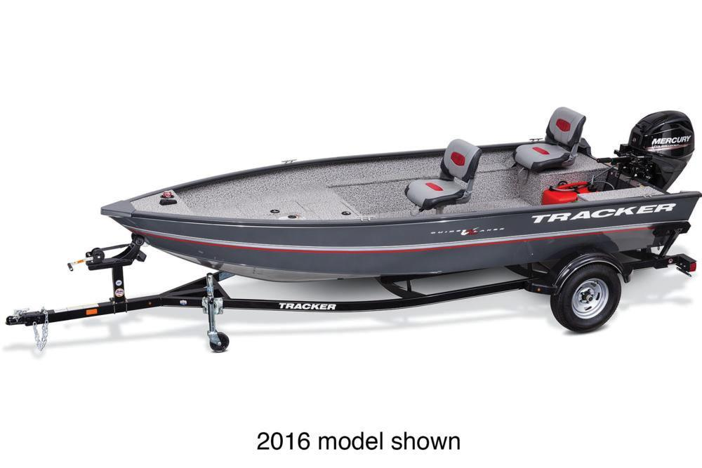 2017 Tracker Guide V-16 Laker DLX T in Gaylord, Michigan