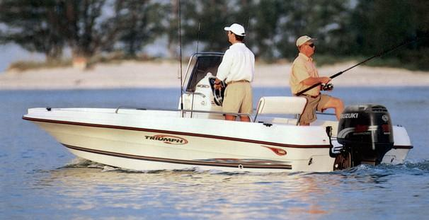 $9,900, 2002 Triumph 190 Bay Saltwater Fishing Boats