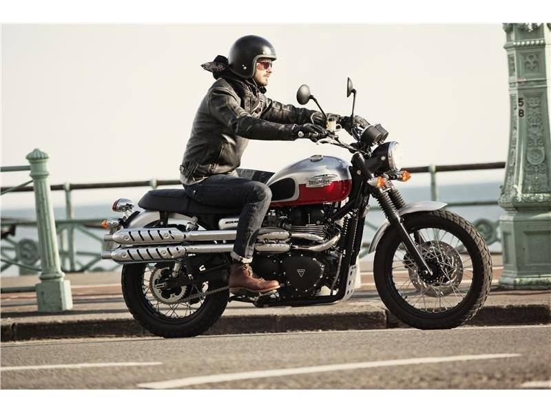 2015 Triumph Scrambler in Dubuque, Iowa