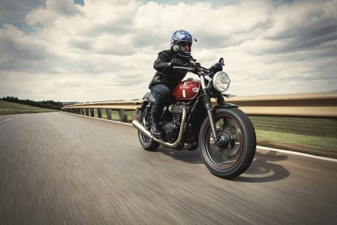 2016 Triumph Street Twin in Manheim, Pennsylvania