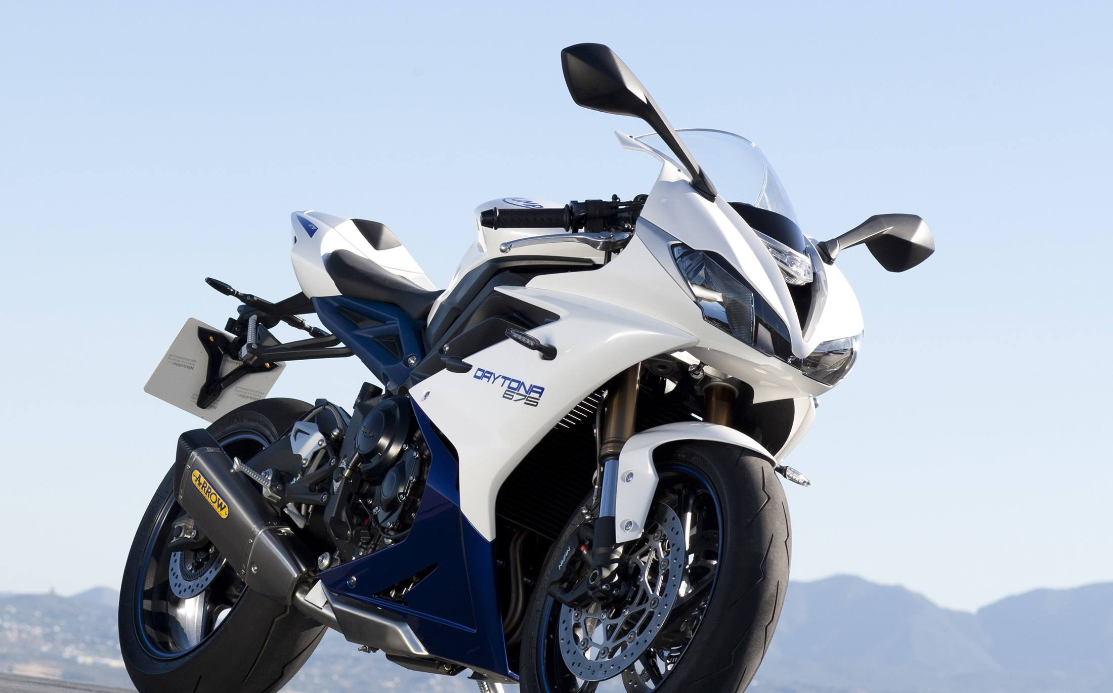 2016 Triumph Daytona 675 ABS in Stuart, Florida