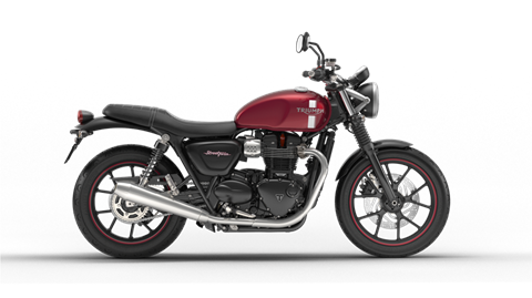 2017 Triumph Street Twin in Dubuque, Iowa
